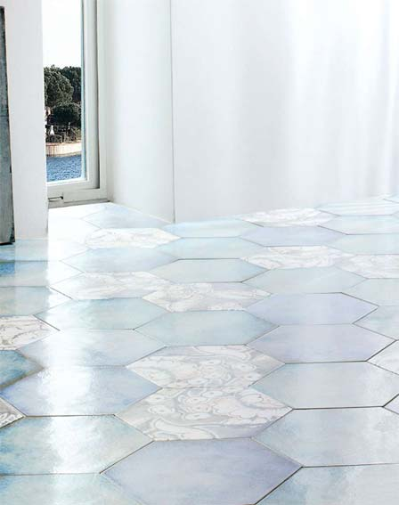 Floor tiles at Burkes Homevalue Kantruk