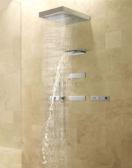 Variety of showers at Burkes Homevalue Kantruk