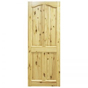 Seadec Belfast Red Pine 4 Panel Curved