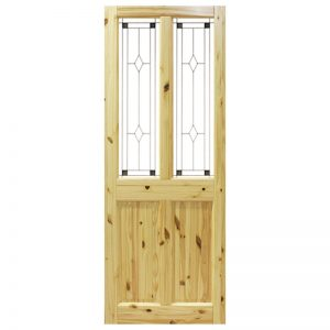 Seadec Waterford Red Pine 2 panel with Glass type 1
