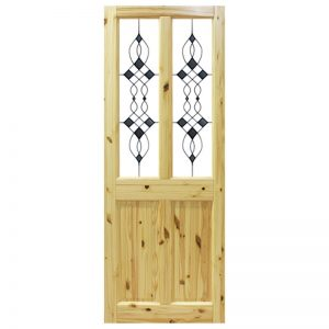 Seadec Waterford Red Pine 2 panel with Glass type 3
