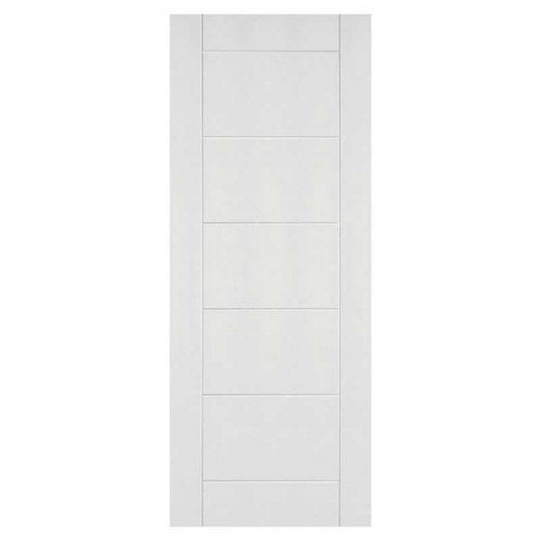 internal white primed solid door deanta