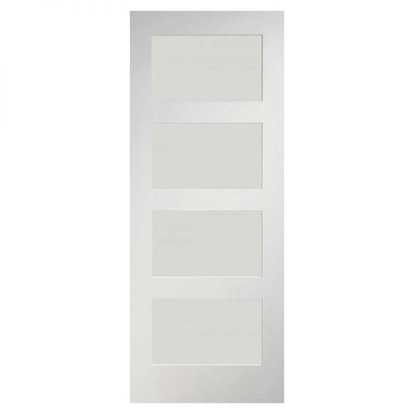 INTERNAL GLAZED WHITE PRIMED DOOR DEANTA