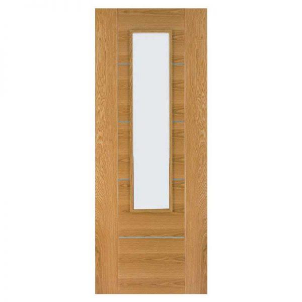 INTERNAL GLAZED OAK DOOR DEANTA