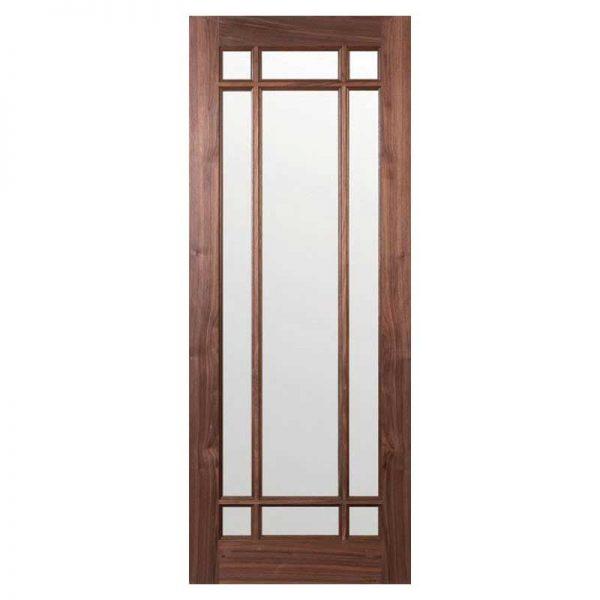 INTERNAL GLAZED WALNUT DOOR DEANTA