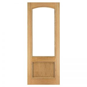 INTERNAL GLAZED OAK DOOR DEANTA