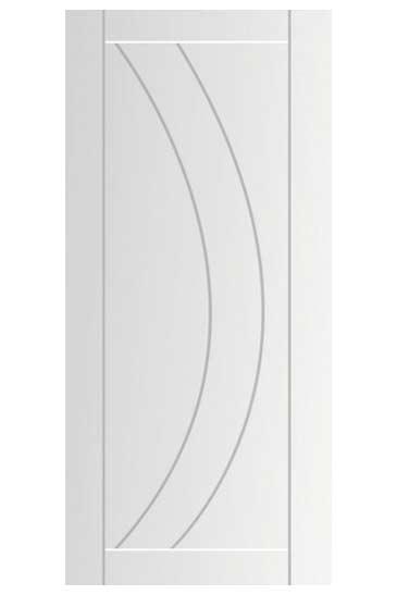 white primmed doors