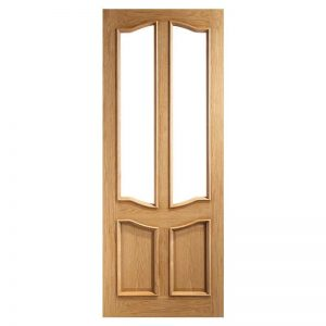 INTERNAL OAK GLAZED DOOR DEANTA vr20g