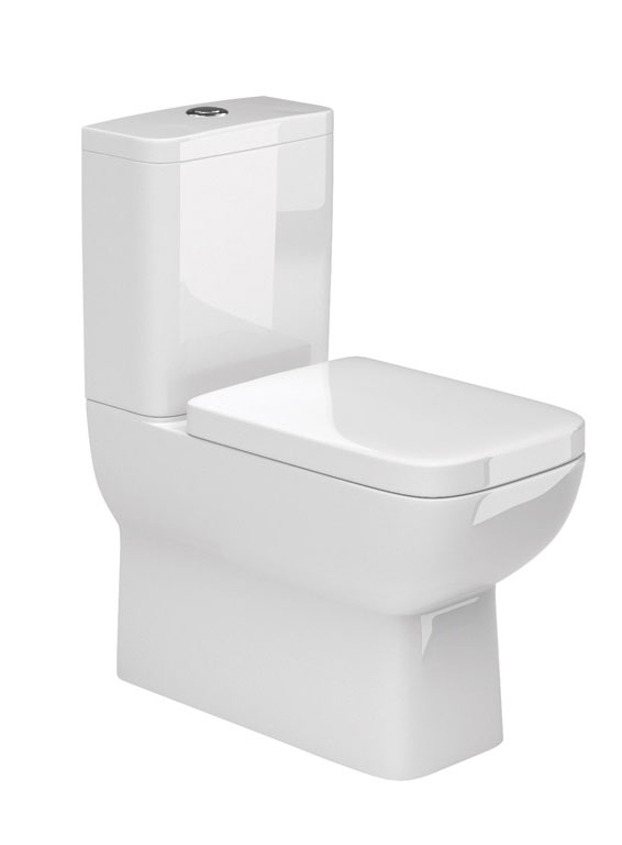 Rio Bathroom Suite close coupled toilet