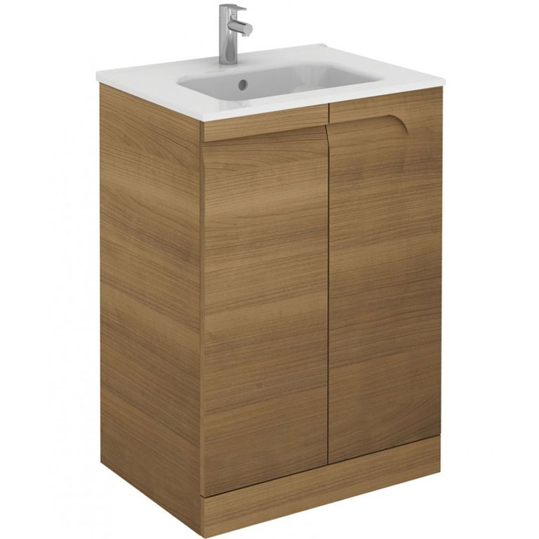 Brava free standing bathroom vanity unit at burkes homevalue kanturk for Free standing bathroom vanity units