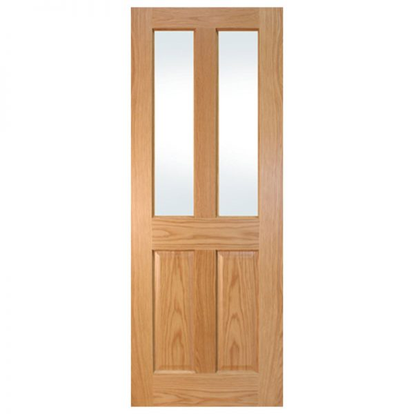 seadec waterford oak 2 panel unglazed
